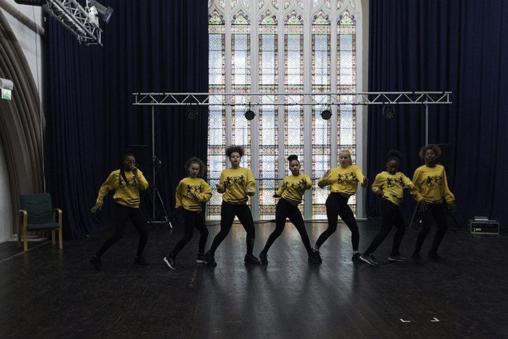 Hype Dance perform at Garden Party